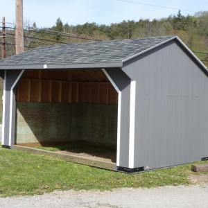 Run-in Shed