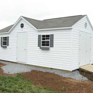 12x24 Chateau With Vinyl Siding