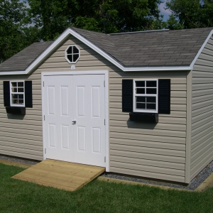 10x16 Chateau With Vinyl Siding
