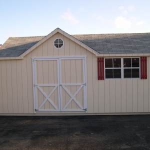 12x20 Chateau With Painted T1-11 Siding