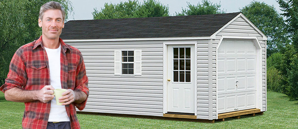 Garages | Pittsburgh & West PA | Yoder's Backyard Structures